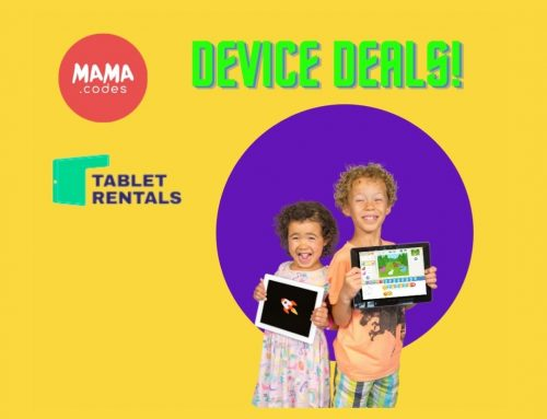 Tablet Rentals Partnership with Mama Codes